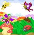 Small animals cartoon vector
