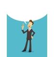 Businessman character vector