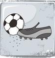 Soccer sports theme vector