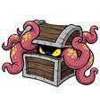 Monster octopus vector