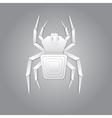 Spider paper design vector
