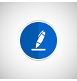 Pen icon tool interface sign symbol graphic vector
