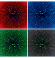 Abstract zoom background vector