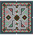 Traditional carpet vector