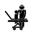 Pediatrician design vector