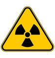 Radiation triangular sign vector