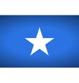 Flag of somalia vector