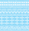 Tribal geometric aztec pattern - grunge retro vector
