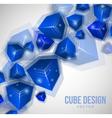 Cube design vector