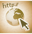 Web search engine vector