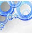 Abstract blue color vector