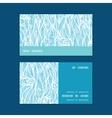 Abstract frost swirls texture horizontal stripe vector