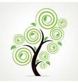 Creative green tree vector