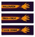 Halloween banners template vector