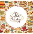Tea time frame vector