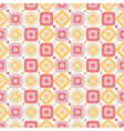 Geometric abstract seamless pattern on white vector