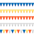 Bunting garland set 2 vector