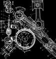 Technical drawingxa vector
