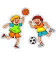 Ball games vector
