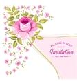 Spring flower for vintage card vector