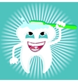 Tooth dental care health vector