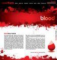 Blood splatter vector