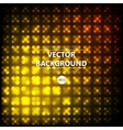 Yellow disco abstraction background vector