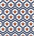 Star pattern background vector