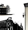 Set of few buildings - city scape vector