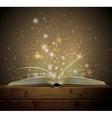 Magic book vector