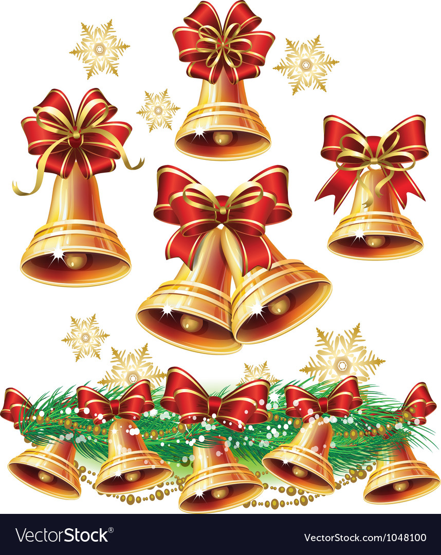 Christmas bell vector | Price: 3 Credit (USD $3)