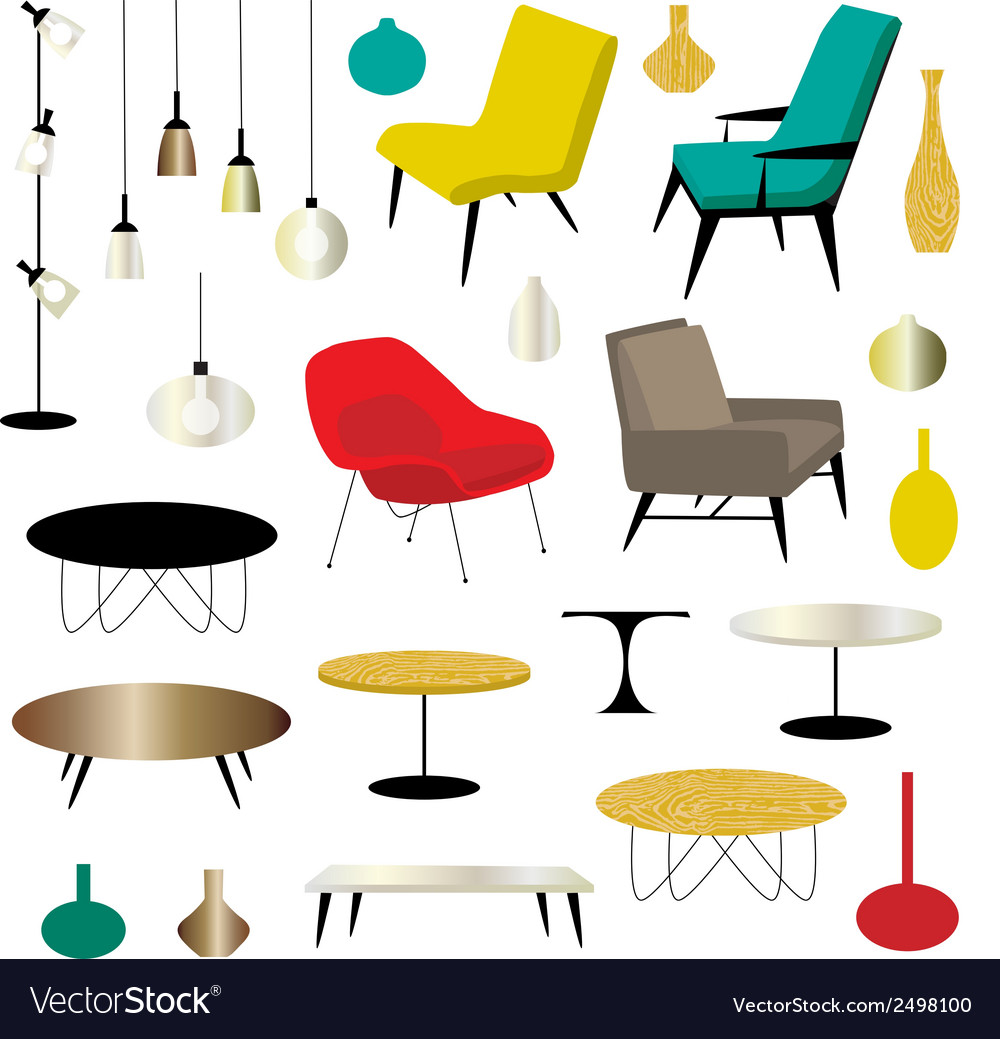 Furniture clipart vector   Price: 1 Credit (USD $1)