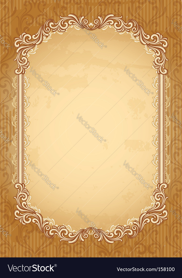 Old-fashioned background vector | Price: 1 Credit (USD $1)