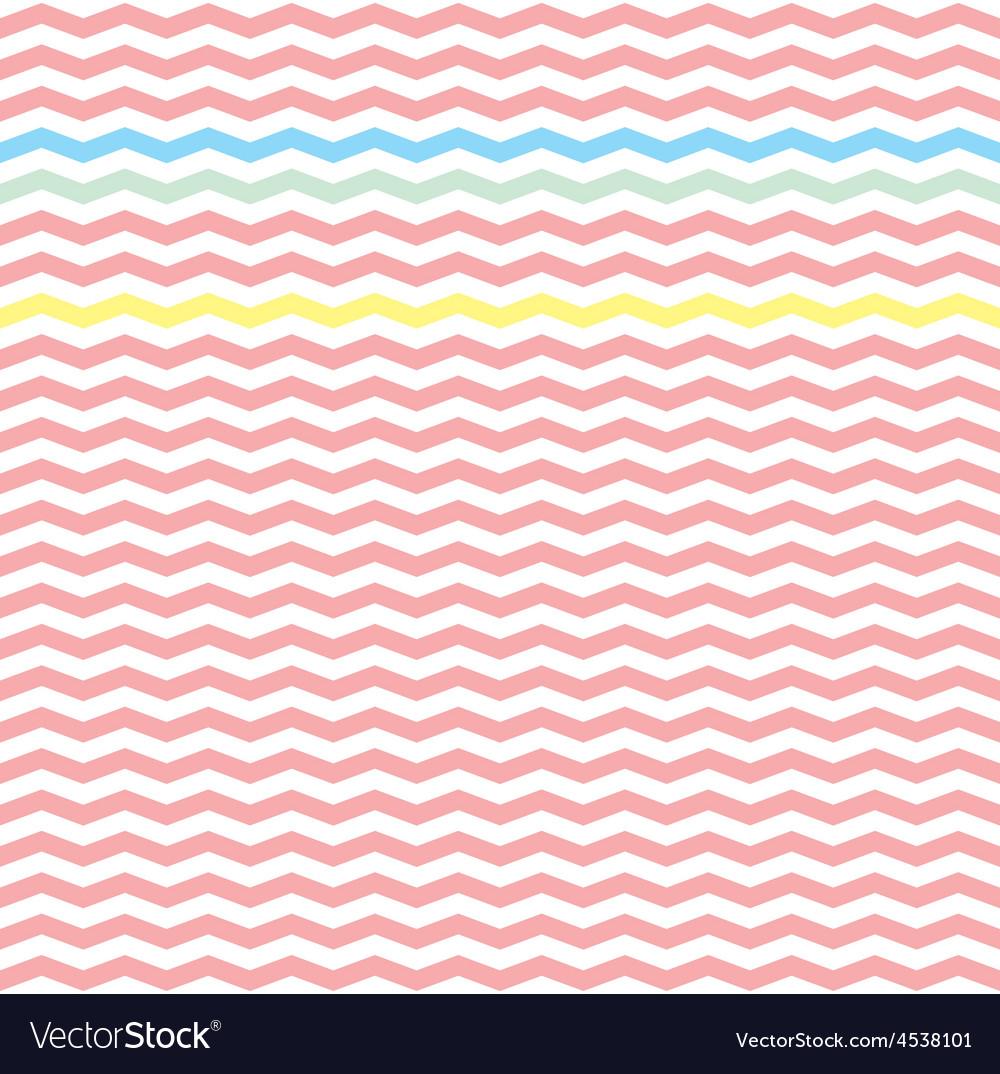 Chevron pink zig zag tile pattern wallpaper vector | Price: 1 Credit (USD $1)