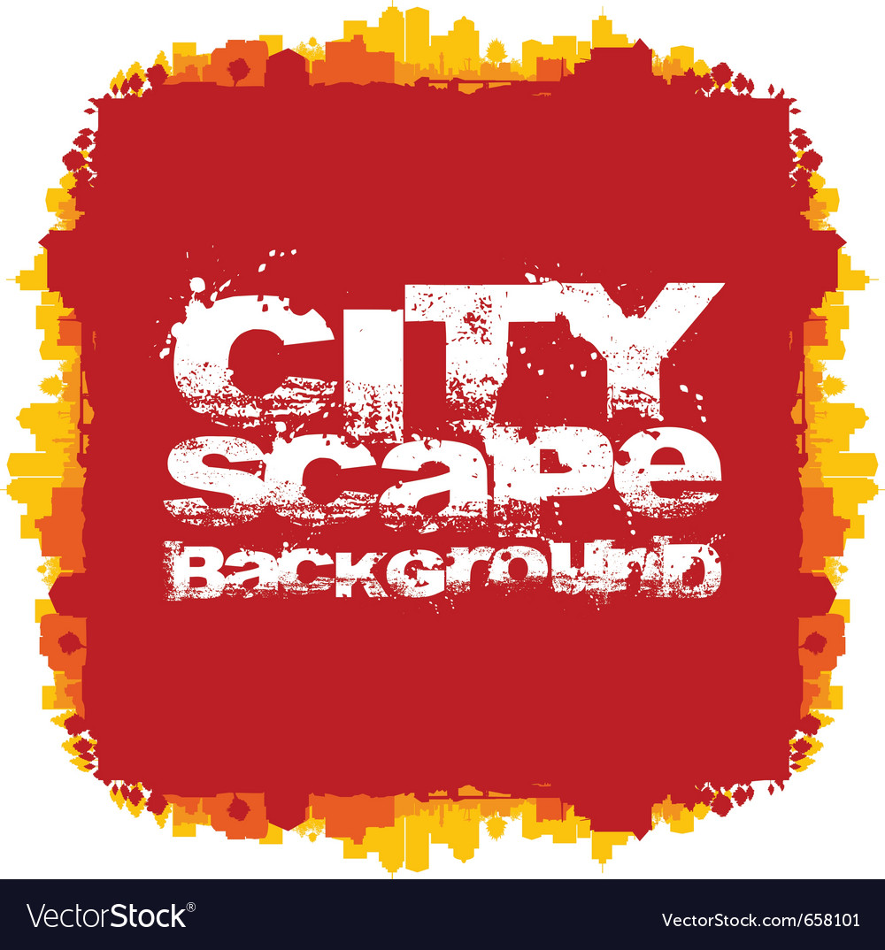 Cityscape abstract background vector | Price: 1 Credit (USD $1)