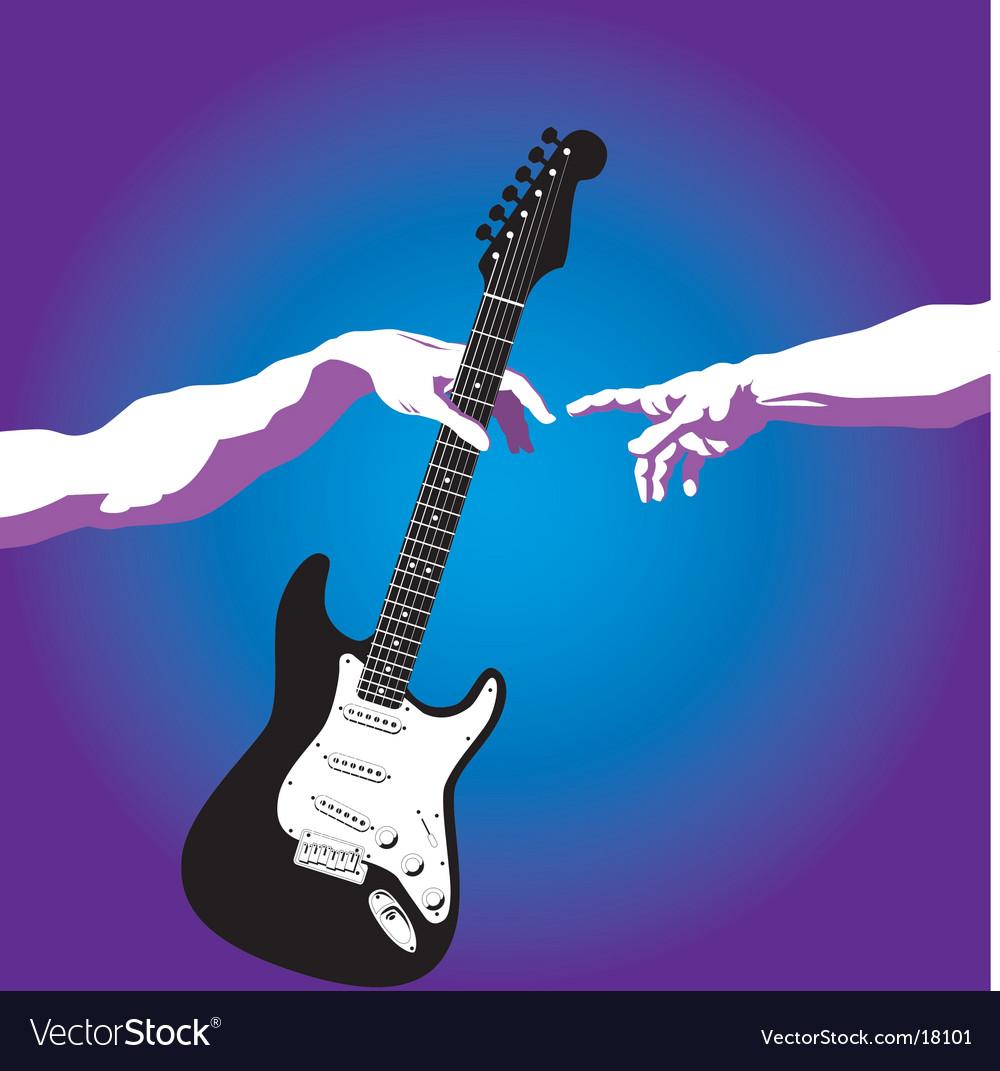 Creation of adam guitar vector | Price: 3 Credit (USD $3)