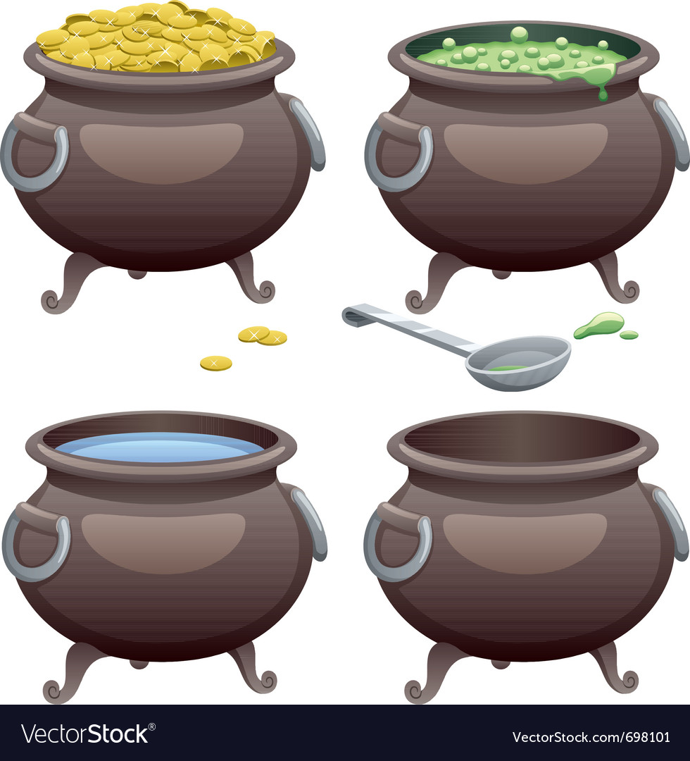 Pot vector | Price: 1 Credit (USD $1)