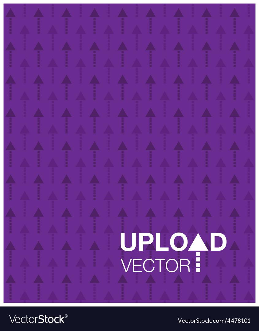 Purple upload background vector   Price: 1 Credit (USD $1)