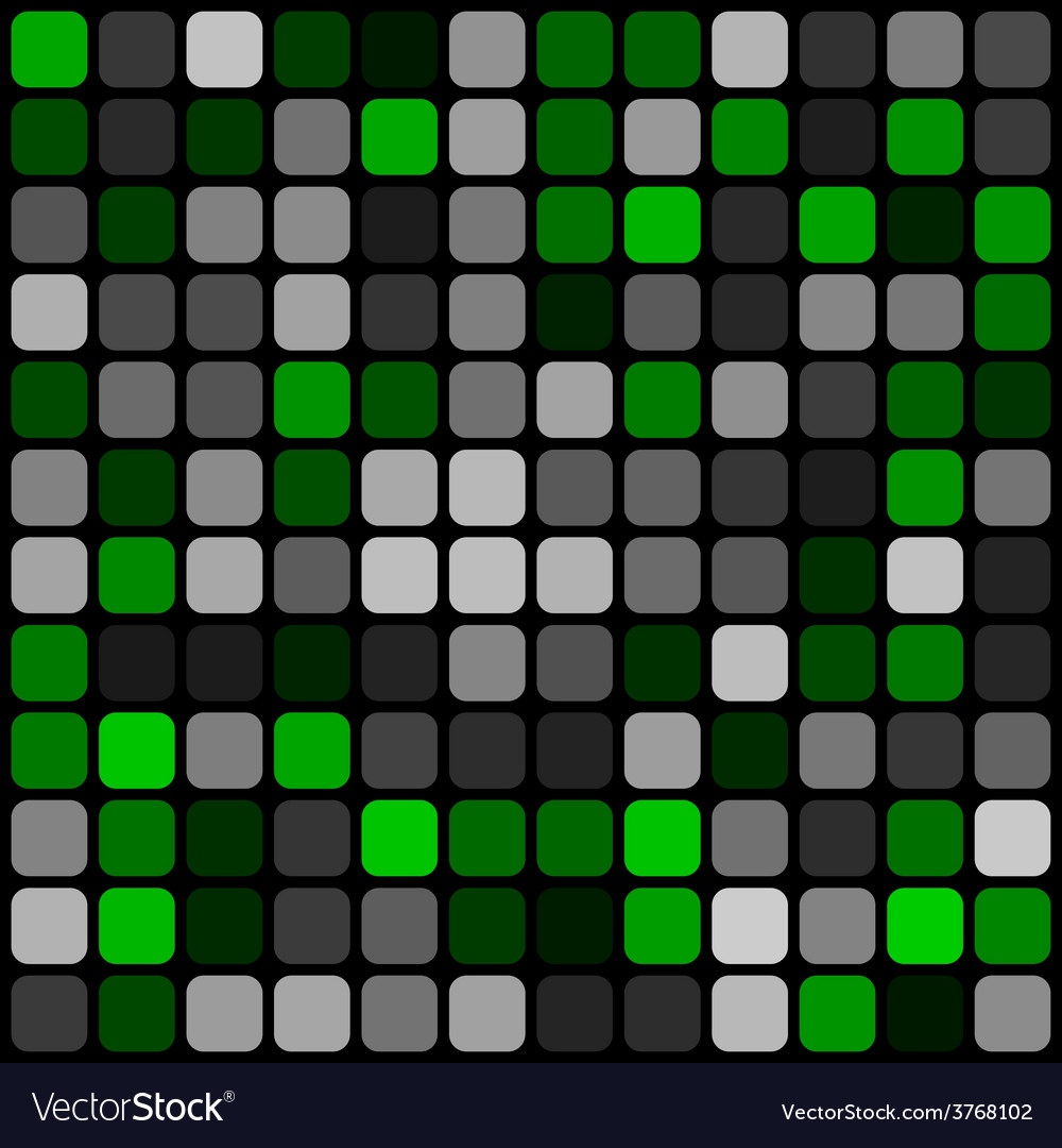 Abstract pattern rounded squares with black grille vector | Price: 1 Credit (USD $1)
