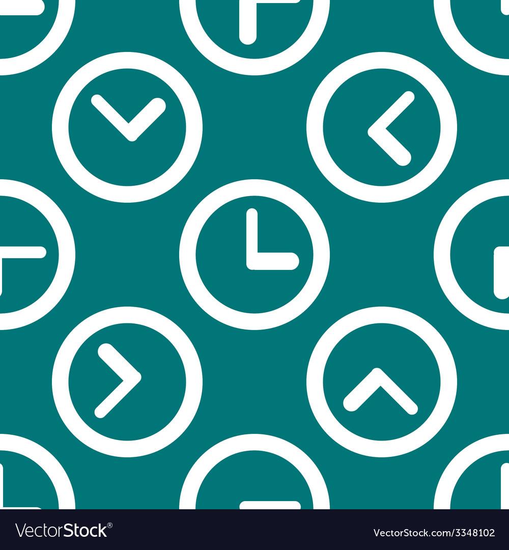 Watch web icon flat design seamless pattern vector   Price: 1 Credit (USD $1)