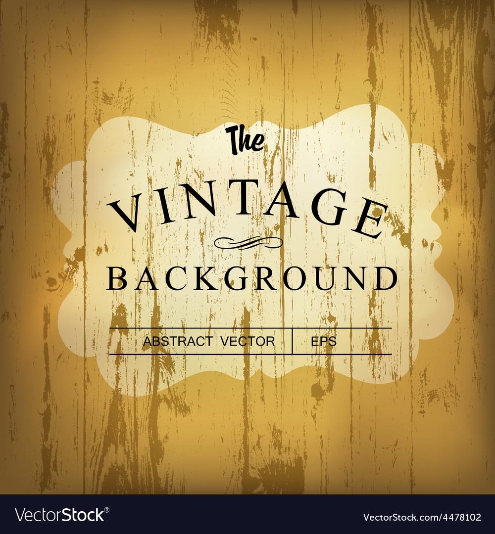 Wooden vintage background vector   Price: 1 Credit (USD $1)