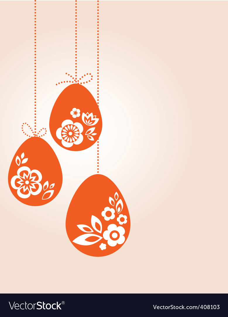 Easter poster vector | Price: 1 Credit (USD $1)