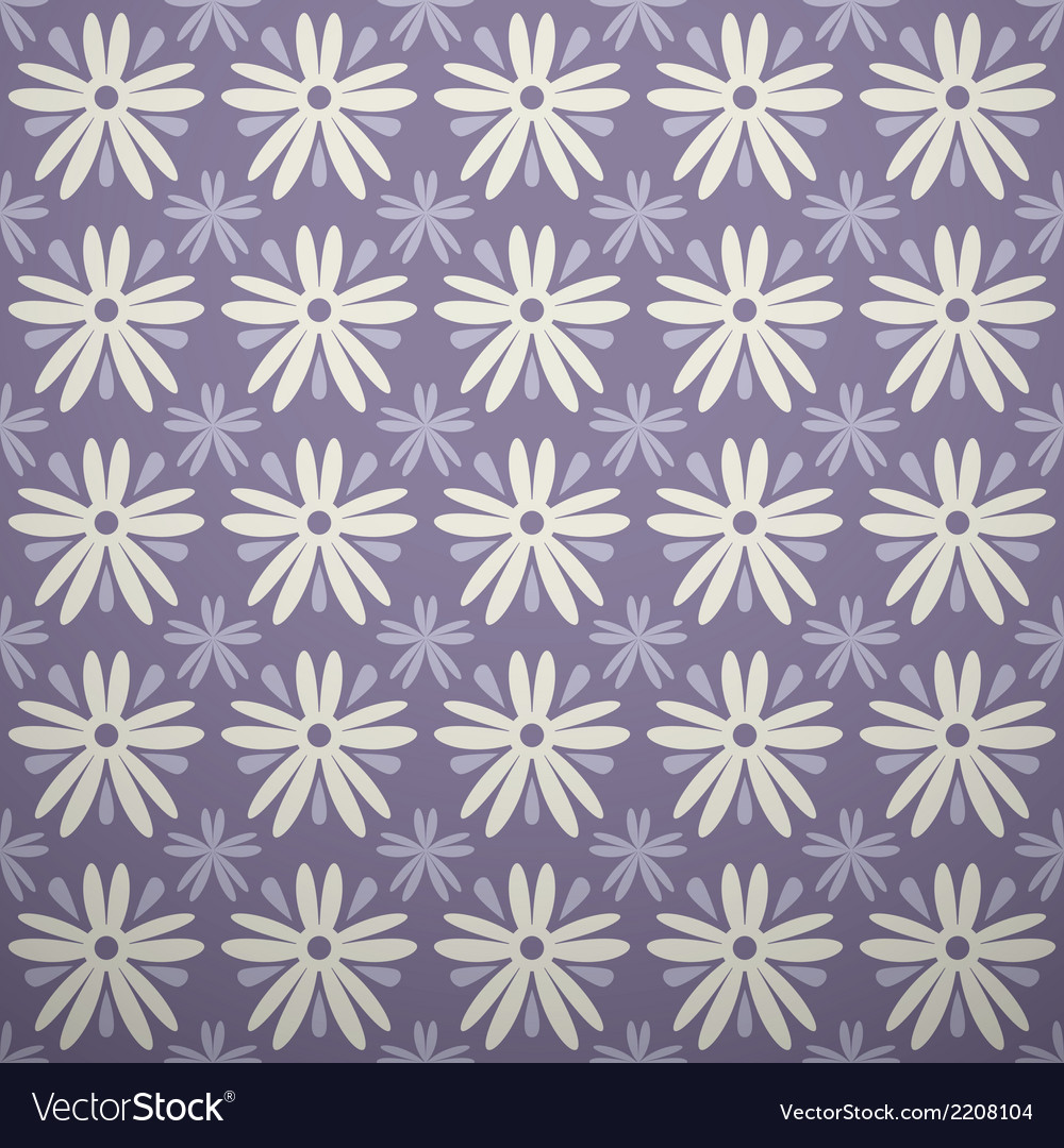 Lilac different seamless patterns square swatches vector | Price: 1 Credit (USD $1)
