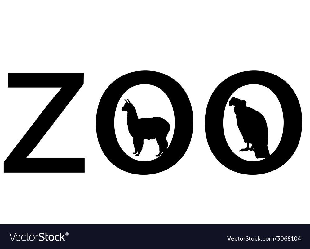 Zoo animals vector | Price: 1 Credit (USD $1)
