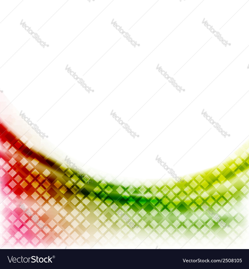 Abstract bright geometrical wave background vector | Price: 1 Credit (USD $1)