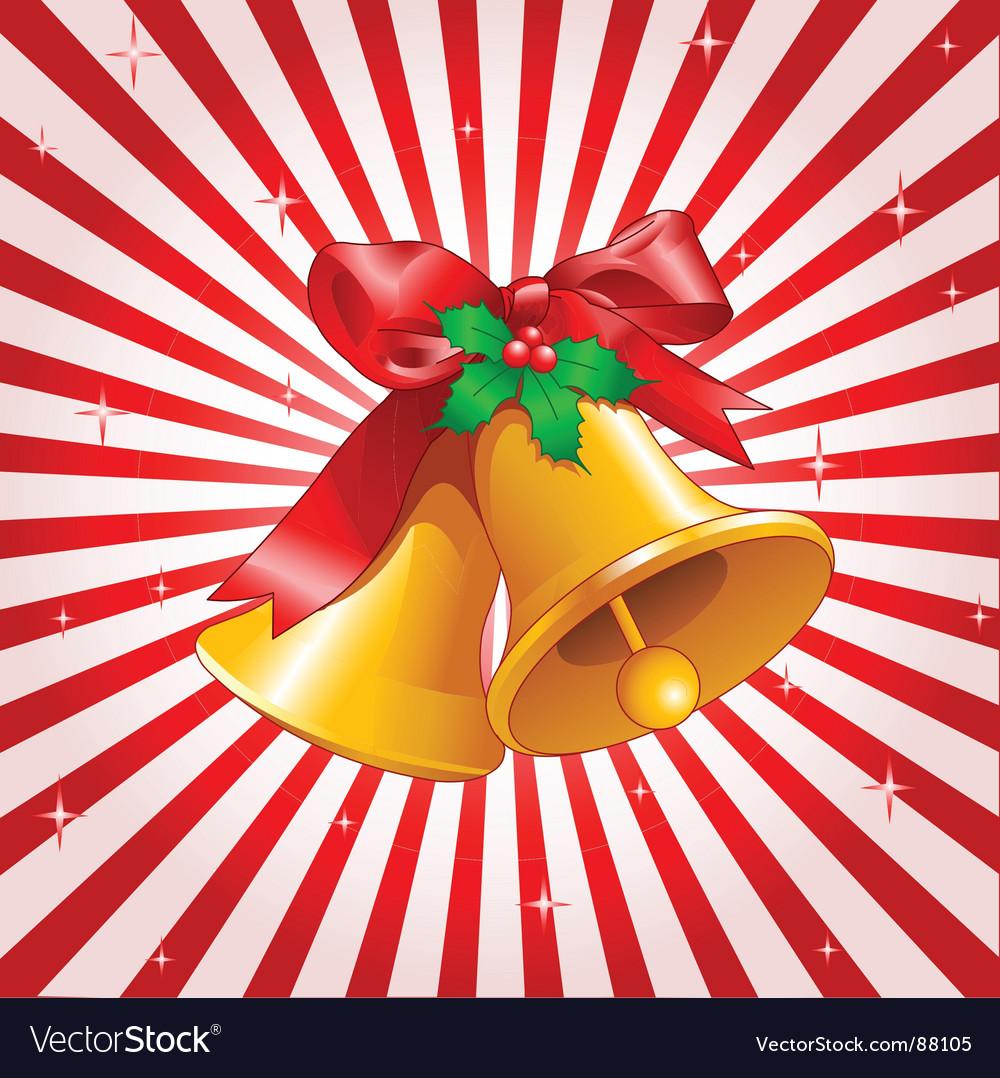 Christmas bells design vector | Price: 1 Credit (USD $1)