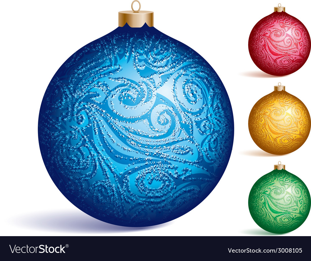 Christmas ornament vector | Price: 1 Credit (USD $1)