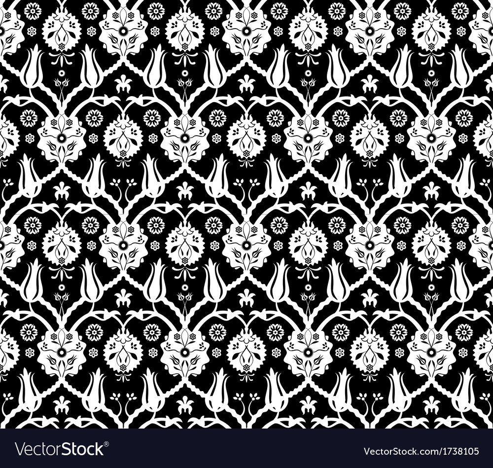 Floral arabic pattern vector | Price: 1 Credit (USD $1)