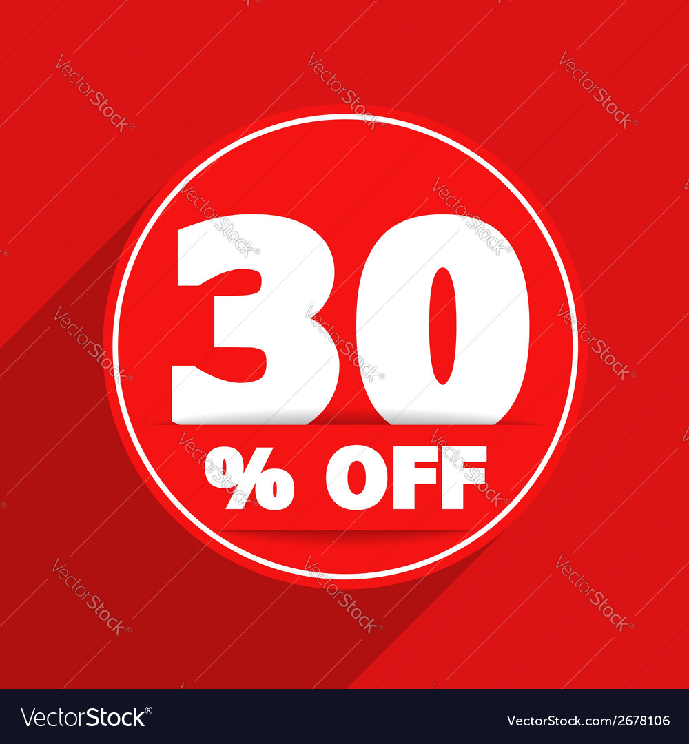 Discount banner vector | Price: 1 Credit (USD $1)