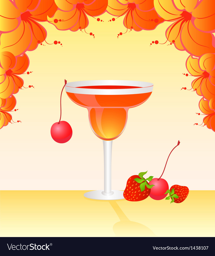 Cocktail vector | Price: 1 Credit (USD $1)
